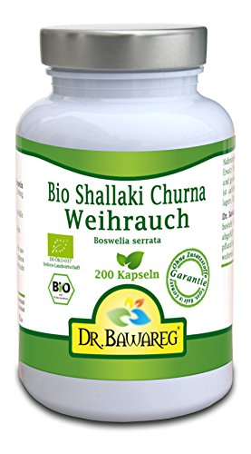 BIO-Weihrauch - Boswelia serrata - 200 Vegi-Kapseln - ohne...