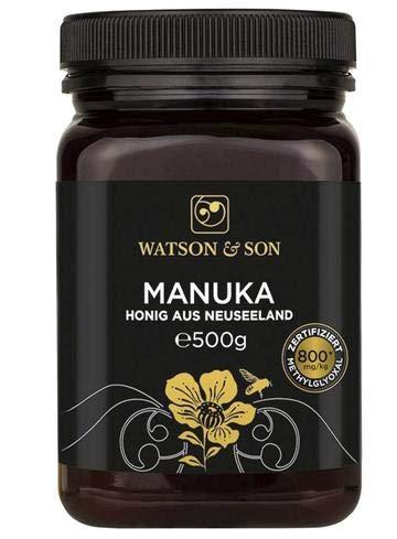 Watson & Son Manuka Honig MGO 800+ 500g | Premium Qualität aus...