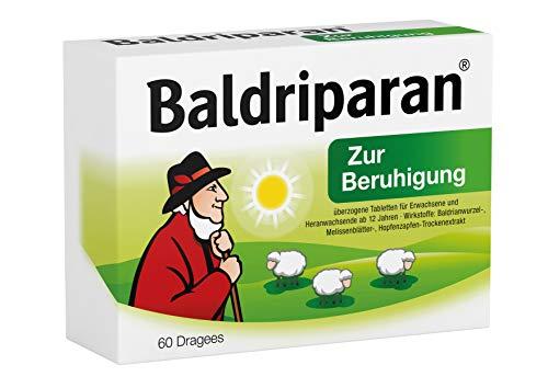 Baldriparan Zur Beruhigung – Pflanzliches Arzneimittel mit...