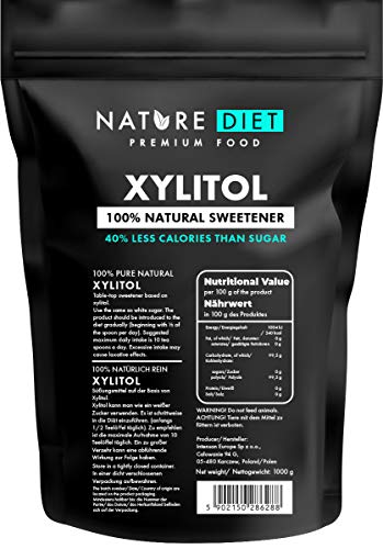Nature Diet Xylitol, 2 x 1000 g
