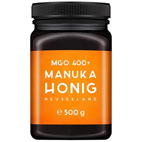 MELPURA Manuka-Honig MGO 400+ 500g aus Neuseeland mit zertifiziertem,...