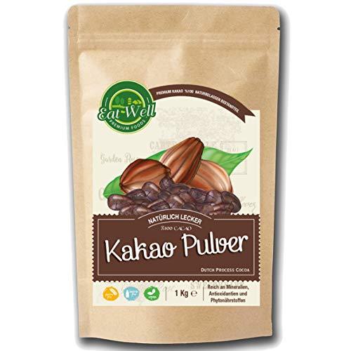 Kakao Pulver (1 kg)   ungesüßter Rohkakao zum Verfeinern von...