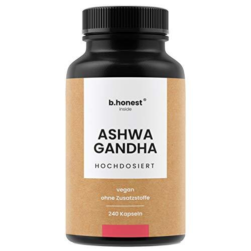 Ashwagandha Kapseln - Hochdosiert mit 1950mg je Tagesdosis, 240...