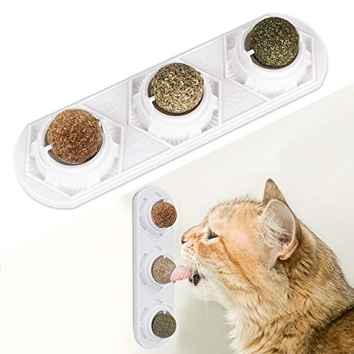 Peteast Katzenminze-Spielzeug, essbare Katzenminze-Bälle, sicher und...