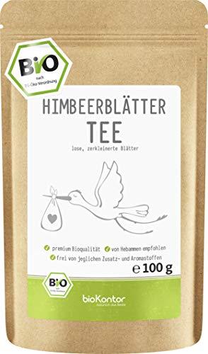 Himbeerblättertee BIO 100g | naturbelassen - 100% BIO -...