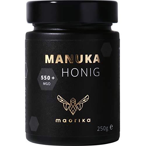 maorika - Manuka Honig 550 MGO + 250g im Glas (lichtundurchlässig,...
