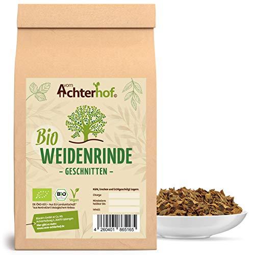 Weidenrinde BIO (250g) geschnitten getrocknet Bio-Weidenrindentee...