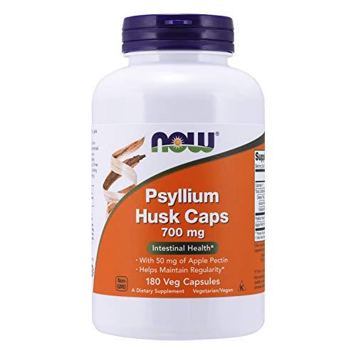 Now Foods | Flohsamenschalen | Psyllium Husk | 700 mg | 180 Kapseln |...