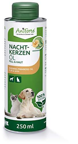 AniForte Nachtkerzenöl für Hunde & Katzen 250ml – ungesättigte &...