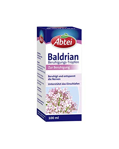 Abtei Baldrian Beruhigungstropfen - pflanzliches Beruhigungsmittel aus...