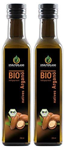 Kräuterland - Bio Arganöl nativ 500ml - 100% rein und kaltgepresst...