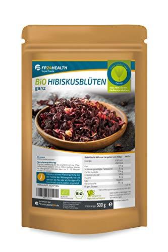 FP24 Health Bio Hibiskusblüten 500g - aus Ägypten - ökologischer...