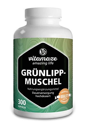 Vitamaze Grünlippmuschel Kapseln hochdosiert: 1500 mg...