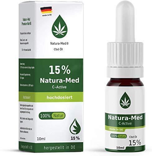 Natura-Med15% C-Active Natur Öl Tropfen 10ml |100% reines...