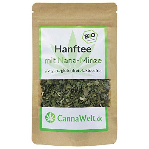 CannaWelt Bio Tee mit Nana-Minze - sehr aromatisch - 15g - DE-ÖKO-039