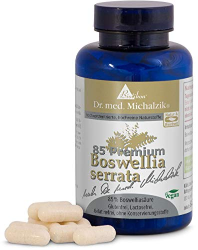 Weihrauch - Boswellia serrata, 400 mg je Kapsel, 100% indischer...