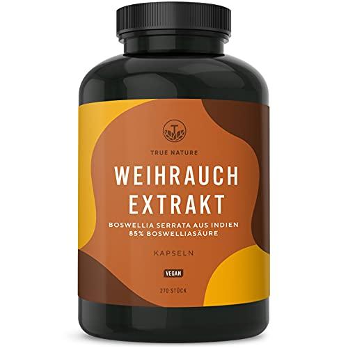 Weihrauch Extrakt (Indischer Boswellia Serrata) - 270 Kapseln à 500mg...