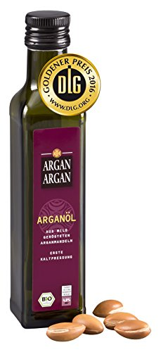 ARGANARGAN Bio-Arganöl geröstet 250ml, kaltgepresst, DLG-GOLD...