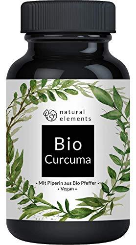 Bio Curcuma - 240 Kapseln - 4542mg (Bio Kurkuma + Bio schwarzer...