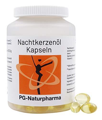 Nachtkerzenöl Kapseln mit Vitamin E - 150 Kapseln mit je 500mg...
