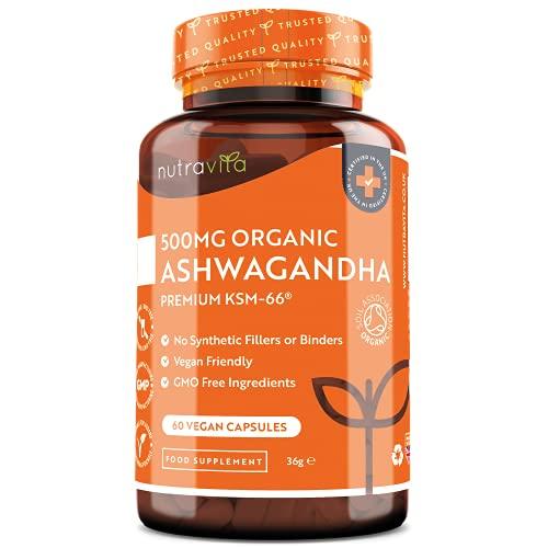 Bio Ashwagandha KSM-66® – 500 mg pro Kapsel – Die höchste...