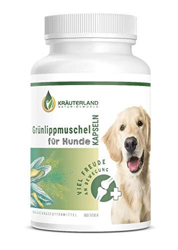 Kräuterland Grünlippmuschel Kapseln Hunde - 300 Stück - 100% pur...