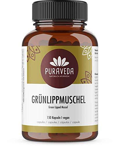 Grünlippmuschel 150 Kapseln - 1650 mg Grünlippmuschelpulver pro...