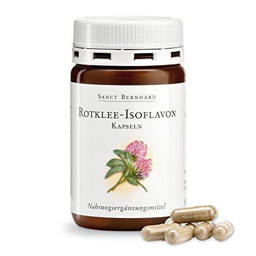 Rotklee-Isoflavon-Kapseln mit Zink, Selen, Biotin, Pantothensäure 90...