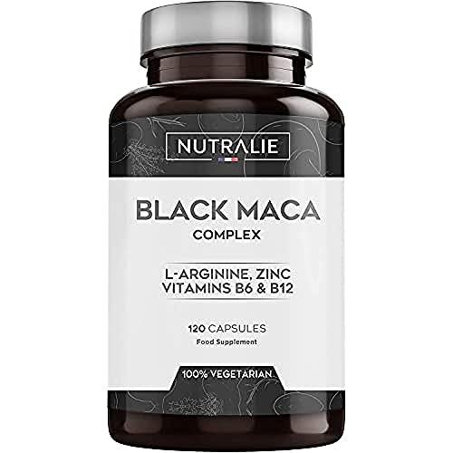 Maca Schwarz aus Peru entspricht 24.000 mg für jede Dosis von 1200 mg...