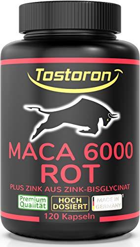 Tostoron MACA 6000 ROT extra stark + hochdosiert - hol dir den...