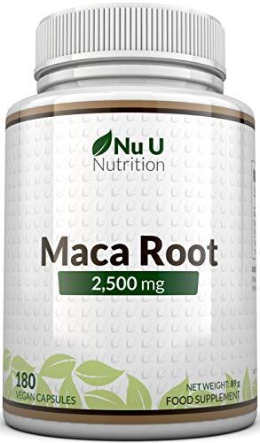 Maca-Wurzel 2500 mg hochdosiert - mit wichtigen Vitalstoffen -...