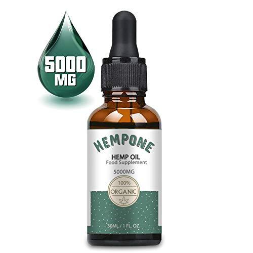 HEMPONE Premium Essential Öl Tropfen, Hochdosiert für höchste...