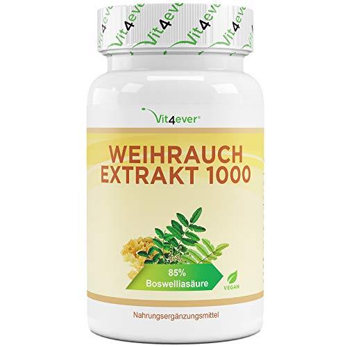 Weihrauch Extrakt - 130 Kapseln - Premium: 85% Boswellia-Säure -...
