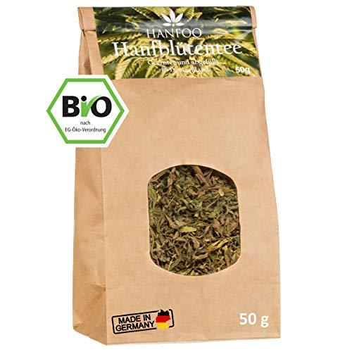 Hanfoo Blüten Tee 50g aus Deutschland