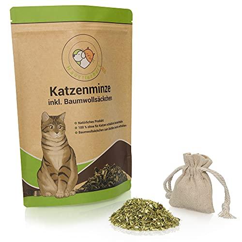 XXL 60g Katzenminze aus deutschem Anbau mit nachfüllbarem Säckchen |...