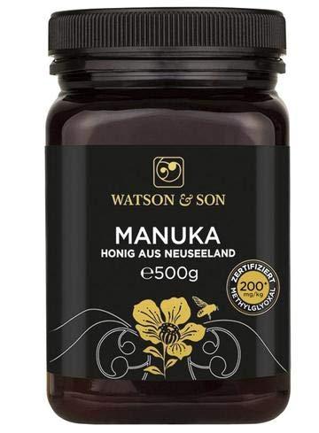 Watson & Son Manuka Honig MGO 200+ 500g | Premium Qualität aus...