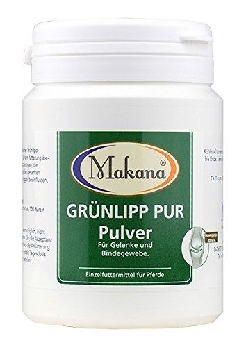 Makana Grünlipp PUR, 100% Grünlippmuschelkonzentrat (Pulver), 100 g...