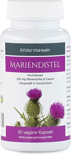 Mariendistel - EXVital VitaHealth - Mariendistel Extrakt mit 80%...