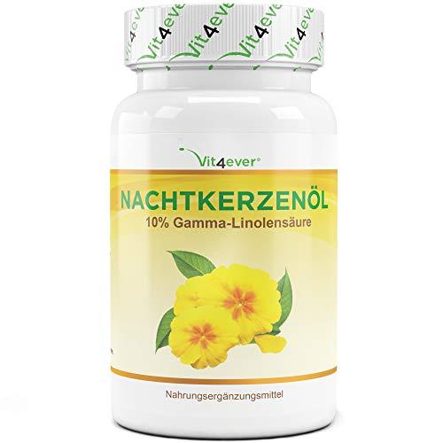 Vit4ever® Nachtkerzenöl - 100 Kapseln mit je 1000 mg pro Softgel -...