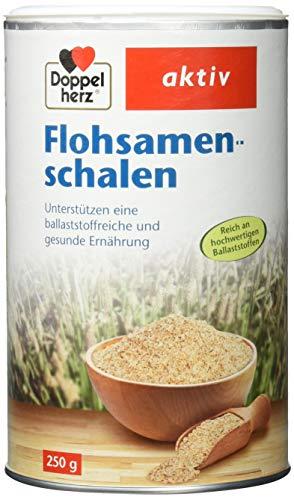 Doppelherz Flohsamenschalen/Ballaststoffreiche Nahrungsergänzung zur...