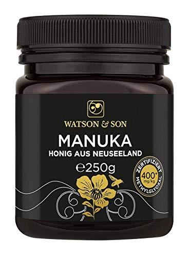 Watson & Son Manuka Honig MGO 400+ 250g | Premium Qualität aus...