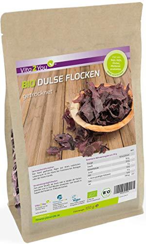 Bio Dulse Flocken | 100g | getrocknet | Lappentang | Ökologischer...