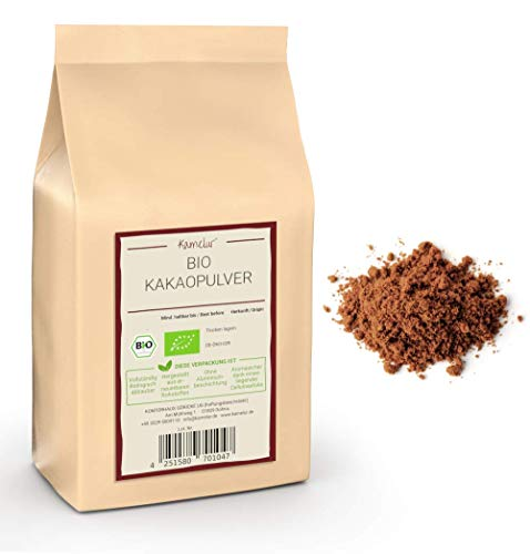1kg BIO Kakao Pulver aus besten Kakaobohnen - Rohkost - 100% reiner...