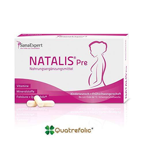 SanaExpert Natalis Pre, Nahrungsergänzung bei Kinderwunsch und...
