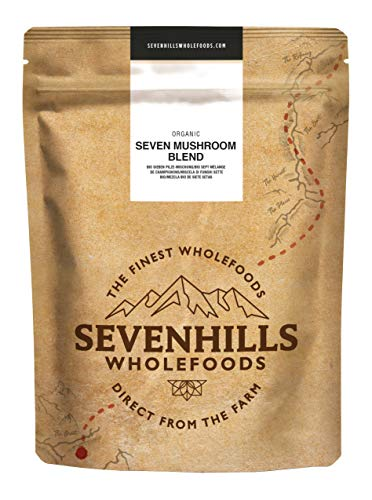 Sevenhills Wholefoods Bio Sieben Pilze-Mischung 500 g
