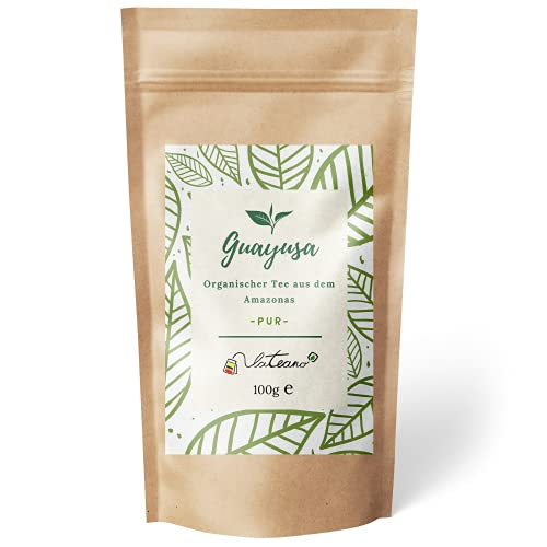 Lateano – Guayusa Tee lose organisch 100g – Energy Tee aus dem...