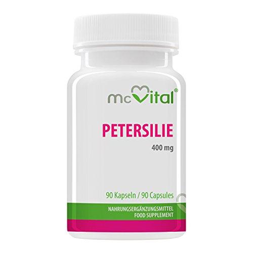 Petersilie - 400 mg - Enthält Myristicin und ist rein natürlich - 90...
