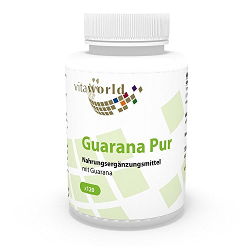 Vita World Guarana pur 500mg 120 Kapseln Apotheken Herstellung