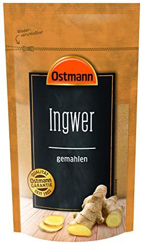 Ostmann Ingwer gemahlen 225 g, feines Ingwerpulver, gemahlene...