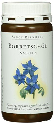 Sanct Bernhard Borretschöl-180 Kapseln, 1er Pack (1 x 120 g)